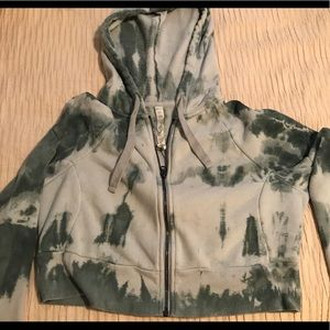 Cropped Alo sweatshirt